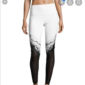 Alo high waist mesh panel leggings